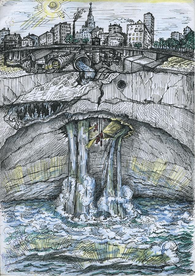 Подземное море может погубить Москву. подземное море