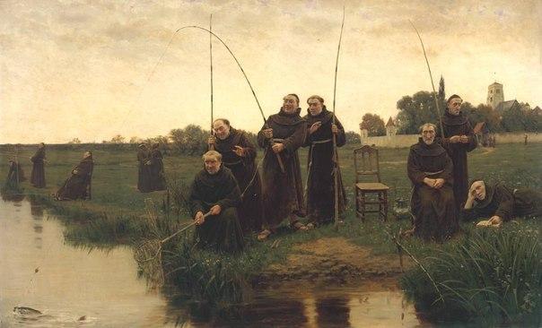 У рыбаков свои приметы