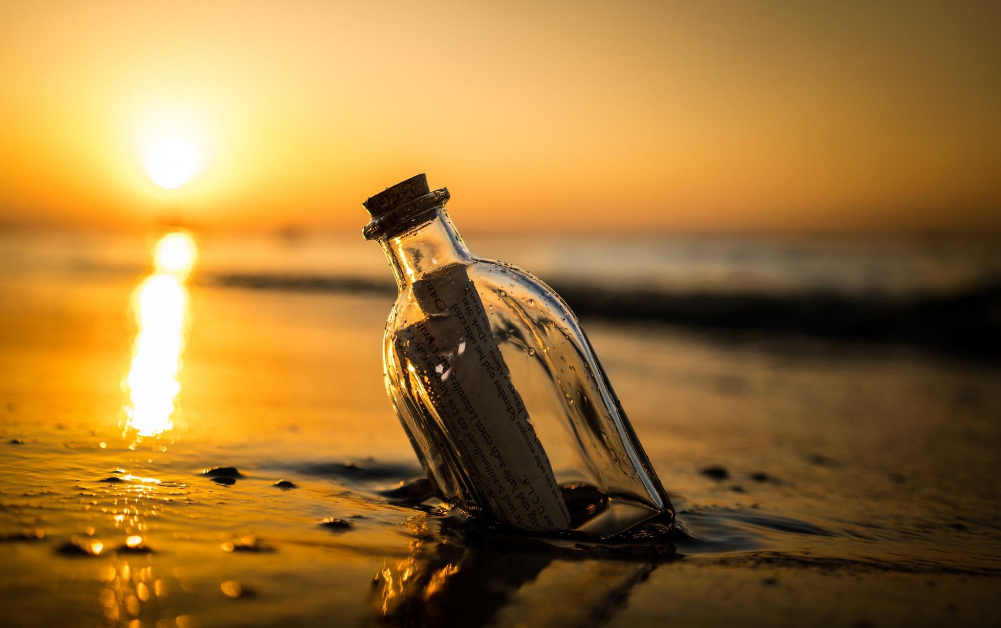 Рыбаки обнаружили послание в бутылке. 16201.jpeg