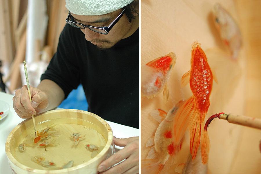 Wordwoman выложил коллекцию 3D арт рыб. художник