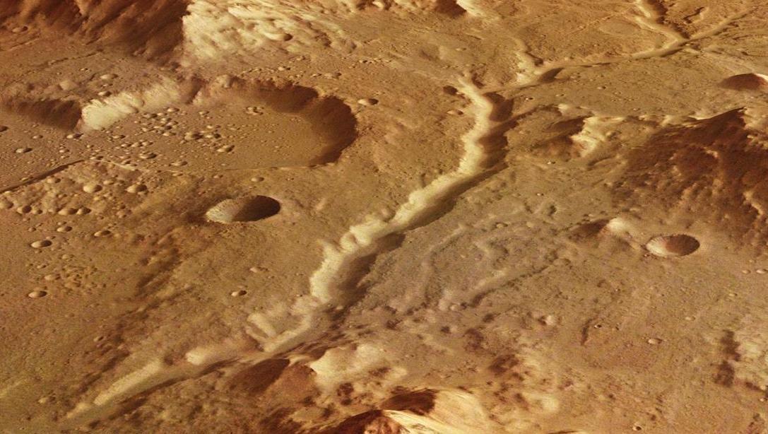 Планетологи не могут объяснить, куда пропали марсианские реки. марс