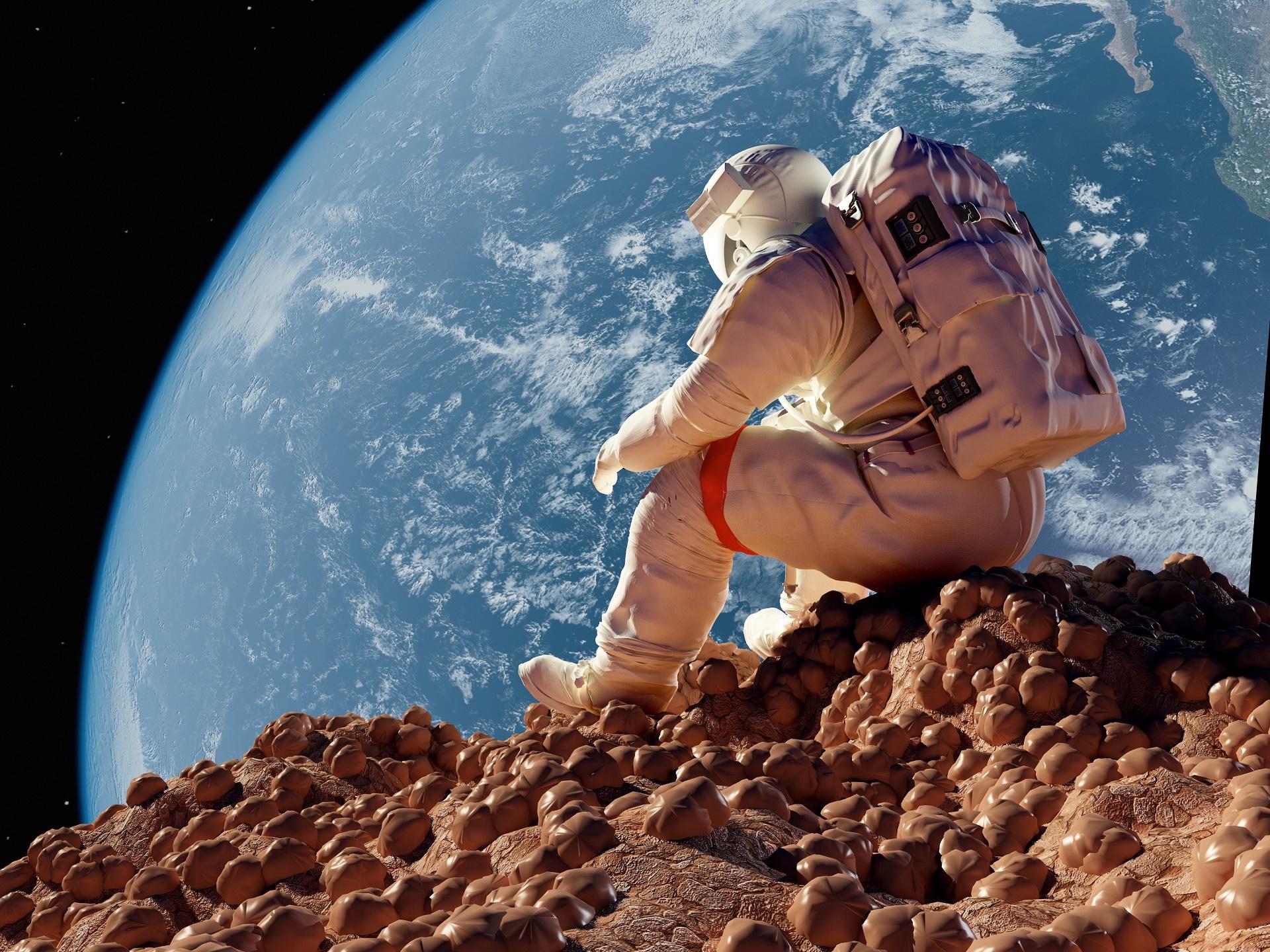 Кандидаты в космонавты проведут без сна 64 часа. космонавт