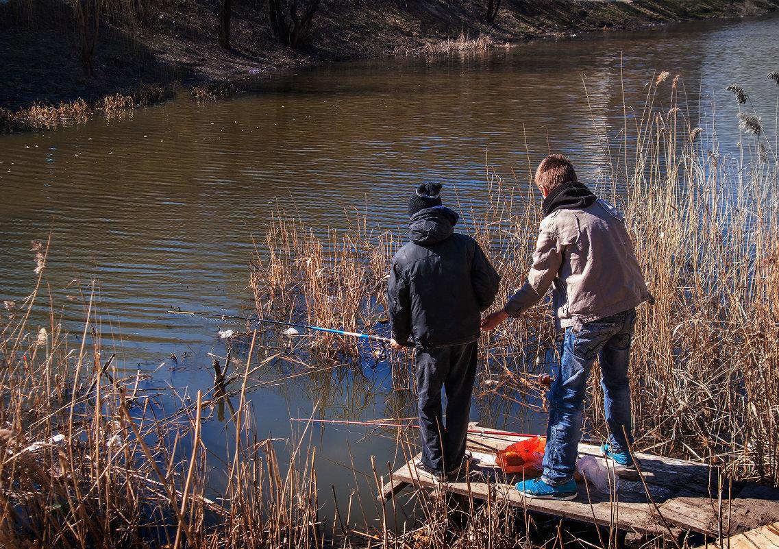 Особенности весенней рыбалки. рыбалка