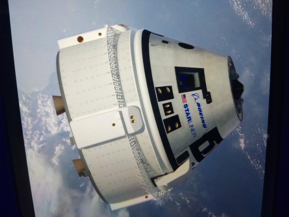 NASA отложила испытания корабля Starliner. корабль