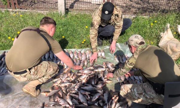 В Кораблинском районе поймали браконьеров. рыба, рыбалка, браконьеры, штраф