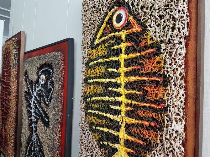 Выставка «День рыбы» открылась в Архангельске. картина