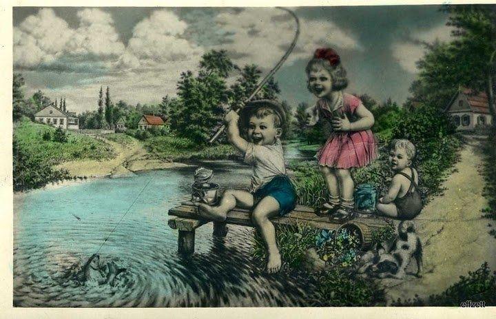 У рыбаков есть ностальгия по советской рыбалке. рыбалка