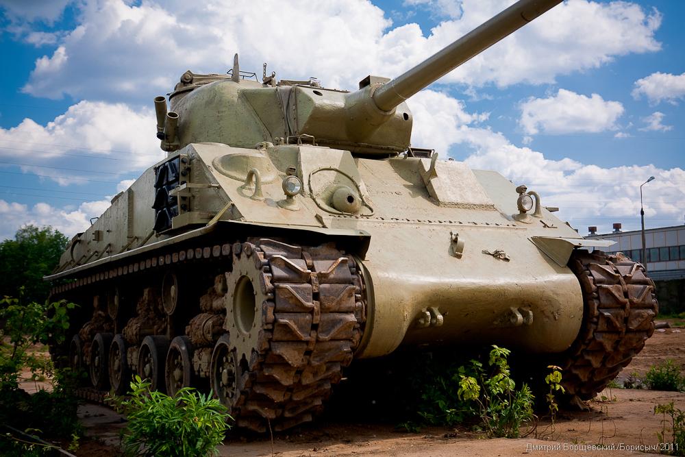 По Хабаровску проедет американский «Шерман». танк