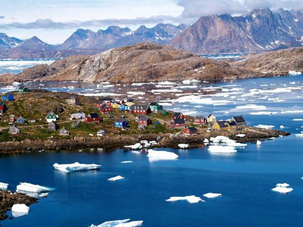 В Гренландии ответили на идею Трампа купить остров. остров, Трамп, Гренландия, Дания