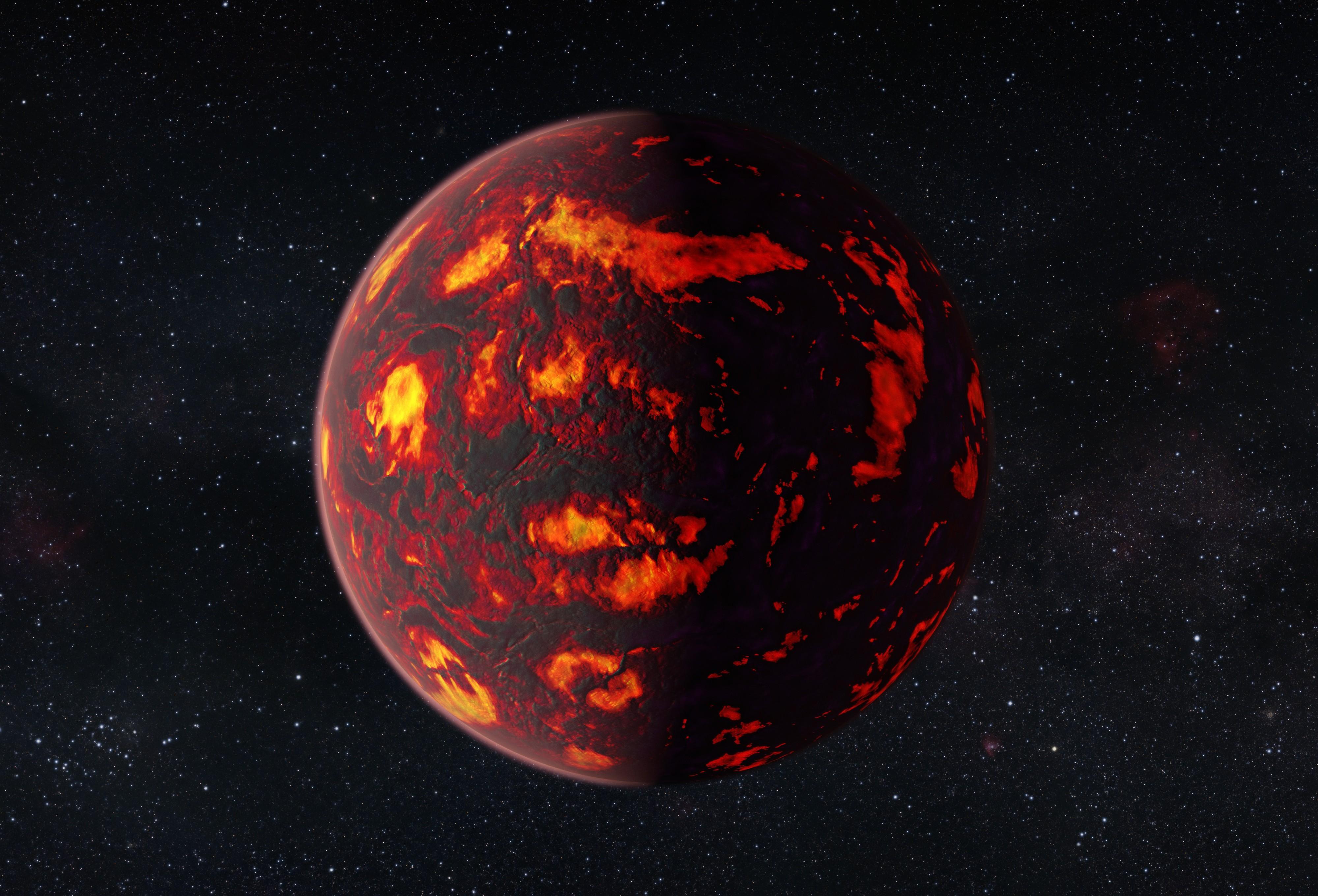 На новой экзопланете, возможно, нет жизни. планета