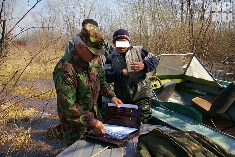 В Ростовской области браконьера могут посадить на два года. браконьер