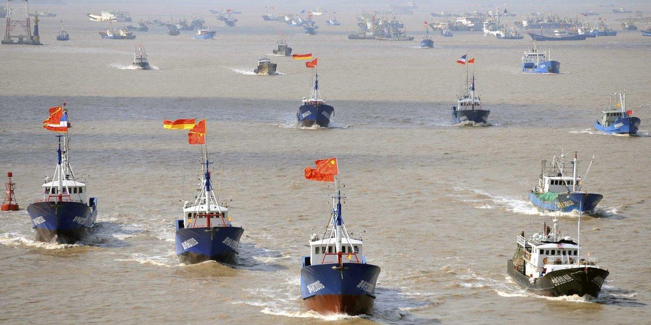 Китайские рыбаки могут спровоцировать военный конфликт. 14464.jpeg