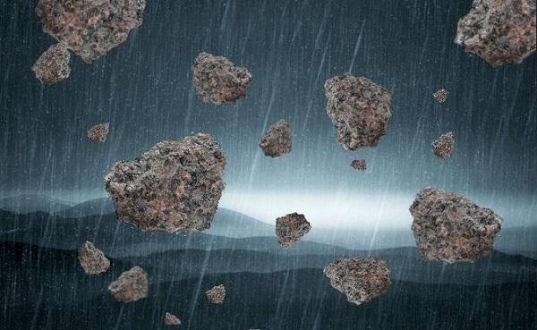 Рыбак нашел камни, которые счел инопланетными. камни