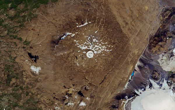 В Исландии простились с растаявшим ледником. ледник, Окйекудль, Исландия