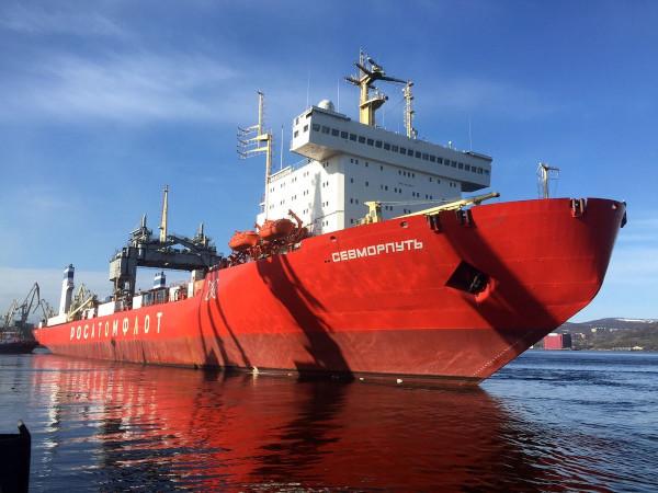 Атомный лихтеровоз доставит тысячи тонн рыбы с Камчатки. рыба, лихтеровоз, Камчатка