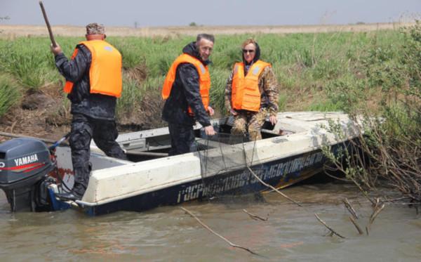 Рыболовы-любители провели рейд по очистке от сетей озера Сугояк. рыба, озеро, Сугояк
