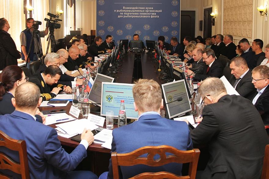 В России появится Академия рыбной кулинарии. заседание