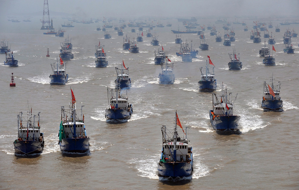 Подводные лодки Эквадора не спускают глаз с китайских рыбаков. флот