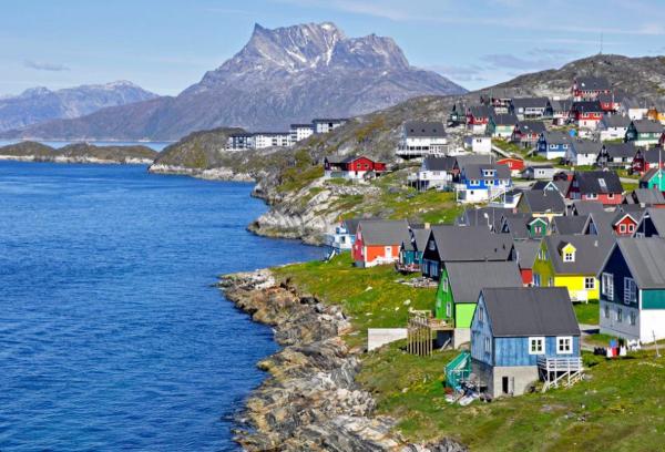Депутат Гренландии предложил рассмотреть идею Трампа о покупке острова. Трамп, США, Гренландия, Дания