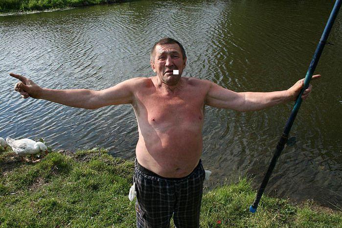 Анатолий Козырь: «Рыбаки, как и все люди, разные бывают». рыбак