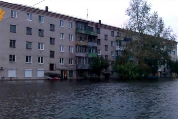 Паводковая ситуация в Комсомольске-на-Амуре продолжает осложняться. река, Амур, паводок,  Комсомольск-на-Амуре
