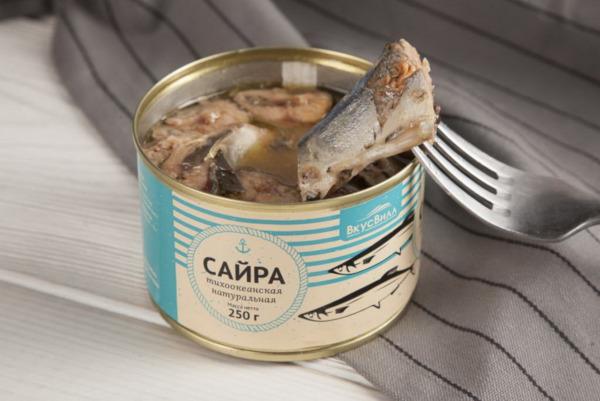 В консервах сайры Росконтроль нашел мышьяк. рыба, продукты, питание, сайра, мышьяк, Роспотребнадзор