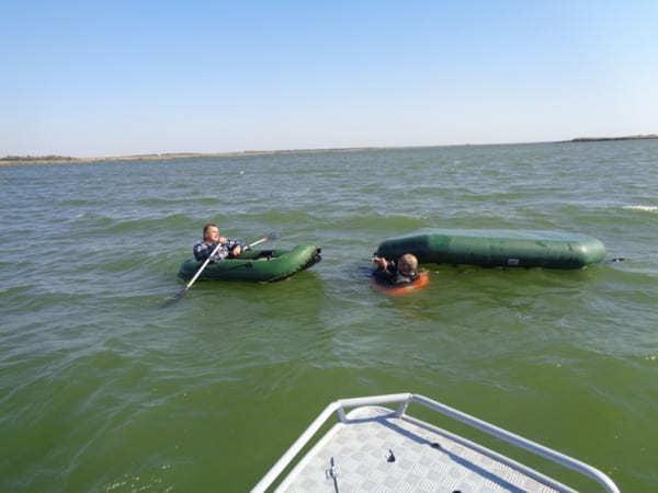 В Веселовском районе из-за сильного ветра чуть не погибли рыбаки. рыба, рыбаки, Веселовский район