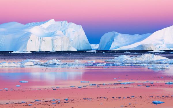 Лед в Арктике в августе стаял на треть больше обычного. экология, глобальное потепление, климат, ледники, Арктика