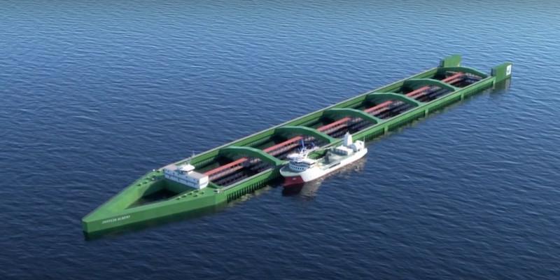 В Норвегии построят самое большое судно. 13640.jpeg