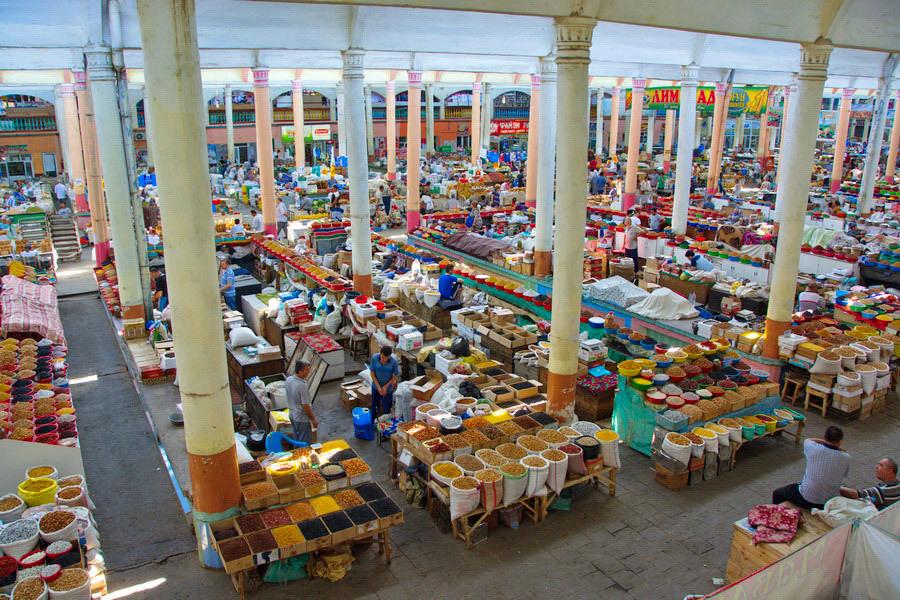 В Таджикистане не хватает рыбы. Рынок в Таджикистане