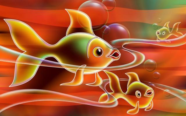 Рыбак поймал настоящую золотую рыбку. 13698.jpeg