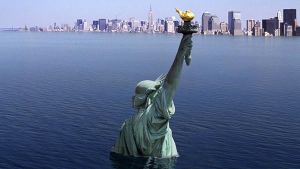 Повышение воды в Мировом океане угрожает городам мира. вода, мировой океан, климат, глобальное потепление, Океанографический музей, Монако