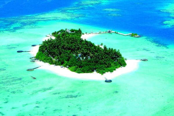 На Мальдивах сдают в аренду необитаемый остров. остров необитаемый остров, Мальдивы, отель Outrigger Konotta Maldives Resort, аренда