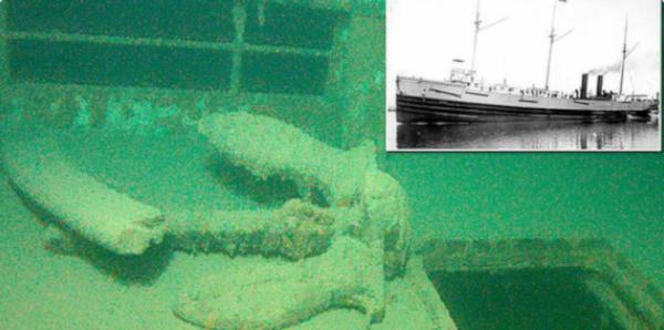 На дне озера в США обнаружили пароход-призрак. озеро, пароход, пароход-призрак, Джерри Элиасон, Крейг Смит, США