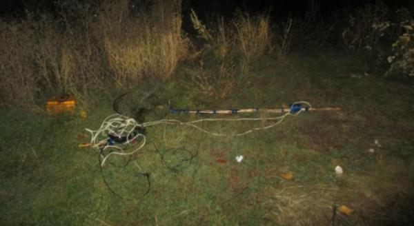 В Мордовии задержали браконьера с электроудочкой. рыба, рыбак, браконьер, электроудочка, полиция, Краснослободский район, село Шаверки, Мордовия