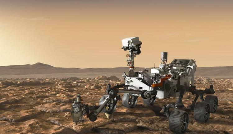 Марсоход Zoë на Марсе еще не был, но жизнь уже нашел. 14971.jpeg