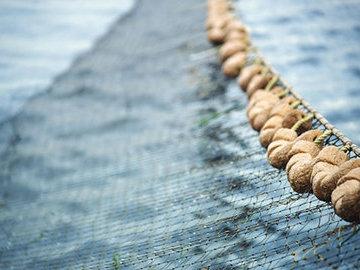 Рыболовные сети перерабатывают с экологической целью