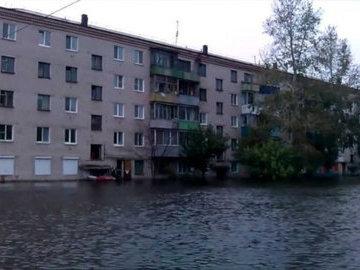 В Комсомольске-на-Амуре осложняется паводковая ситуация