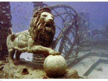 Мемориал Нептуна: кладбище под водой