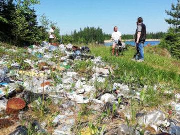 Волонтеры очистили побережье Финского залива от 16 тонн мусора