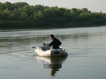 Готовим к весне лодку-пвх