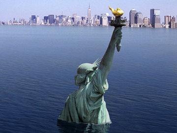 Повышение воды в Мировом океане угрожает городам мира