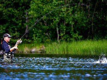 Ловля летом на балансир