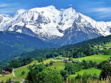 На Монблане из-за угрозы схода ледника эвакуировали альпинистов