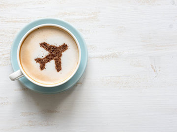 Кофе и чай в самолете лучше не пить