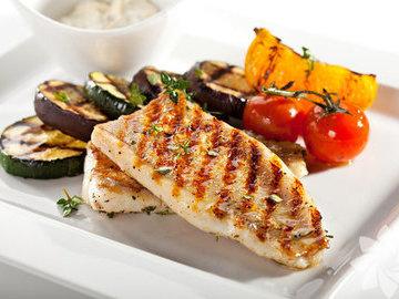 Рыбные блюда на гриле