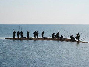 Лов пеленгаса на Азовском море