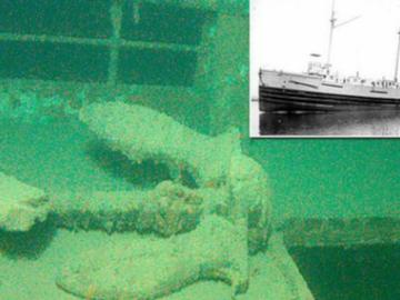 На дне озера в США был обнаружен пароход-призрак