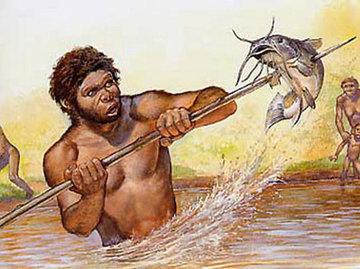 Рыбалка по-кроманьонски