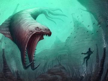 Подводные монстры мирового океана